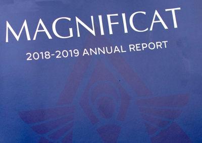 Magnificat Annual Report 2018-2019